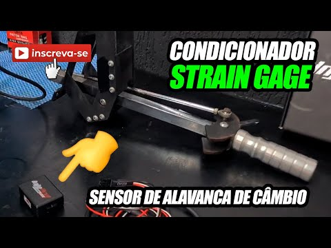 Sensor de Alavanca e Condicionador Strain Gage - Dica INJEPRO