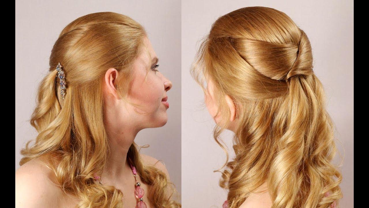 Прическа на выпускной 4 класс длинные волосы фото