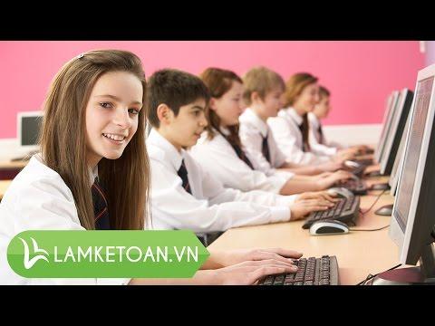 Hướng dẫn học kế toán qua ineternet, học kế toán online-lamketoan.vn