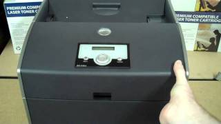 How To Remove Transfer Roller In A Dell 5100CN Color Printer