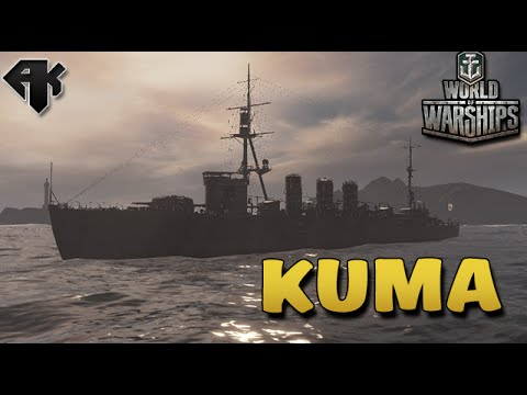 WORLD OF WARSHIPS: KUMA CRUISER, PARTIDA APERTADA (SORTEIO DE KEYS)