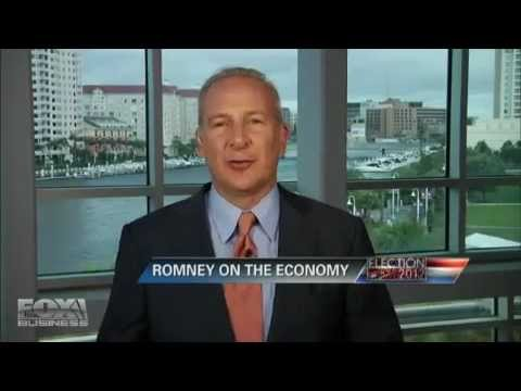 Peter Schiff - Ron Paul Media Bias - FOX Business News 8/27/12