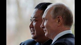 لقاء رئيسي روسيا وكوريا الشمالية بوتين