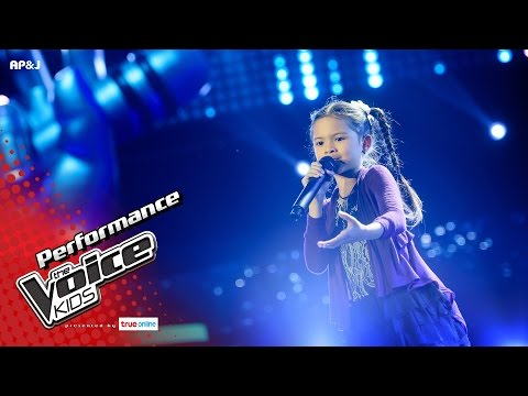 ป่าน - ฝนซาฟ้าใส - Blind Auditions - The Voice Kids Thailand - 23 Apr 2017