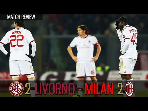 Livorno vs Milan 2-2 (2013/14 Serie A | Matchday # 15) Match Review