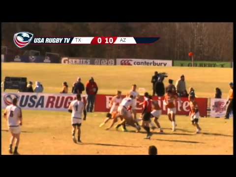 2013 USA Rugby College 7s National Championship: Texas vs Arizona