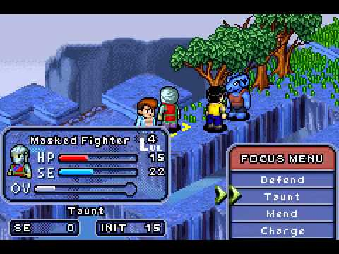 Yu Yu Hakusho - Ghostfiles - Tournament Tactics - Yu Yu Hakusho - Ghostfiles - Tournament Tactics Walkthrough Part 1 (GBA) - User video