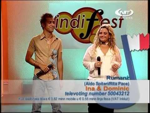 Indifest 2008 - Rumanż - Ina Robinich u Dominic Cini