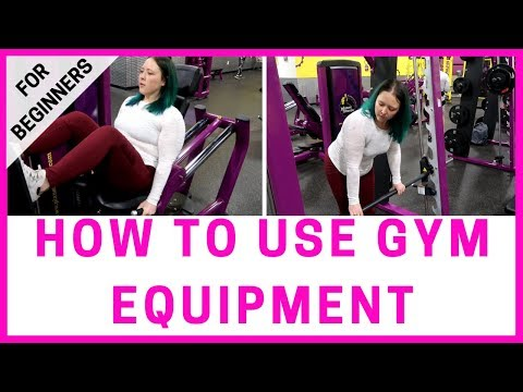 How to use gym equipment for Beginners   Weight Loss Motivation