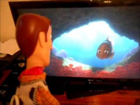Woody Watches Finding Nemo