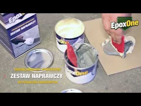 EpoxOne - 2-składnikowy epoksydowy zestaw naprawczy
