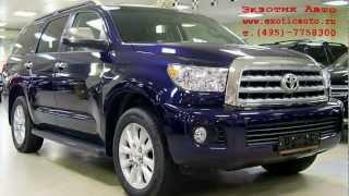 Toyota Sequoia Platinum 2012 (Тойота секвойя Платинум 2012)