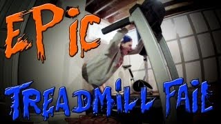 [EPIC TREADMILL FAIL.] Video