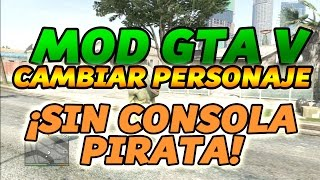 GTA 5 1.17 MODIFICAR PERSONAJE CAMPAÑA. ALIEN