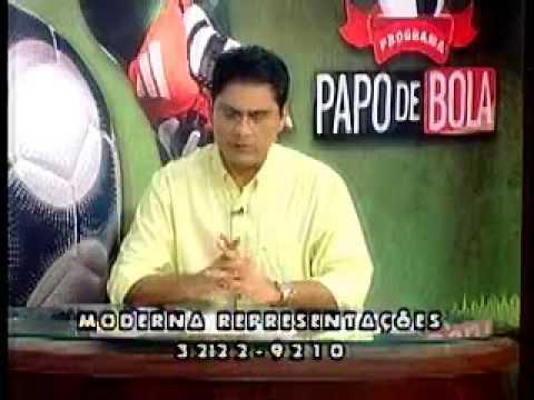 Programa Papo de Bola exibido dia 04 de abril de 2013