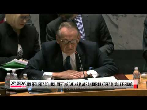 Urgent UN Security Council meeting takes place on North Korea missile launches