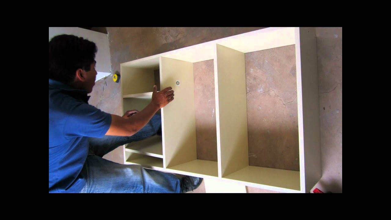 Mueble de Cocina Melamine - YouTube
