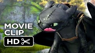 How To Train Your Dragon 2 Movie Clip #1 - Itchy Armpit (2014) - Animation Sequel HD