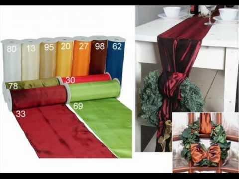 tischdeko hochzeit selber machen tischdekoration basteln youtube. Black Bedroom Furniture Sets. Home Design Ideas