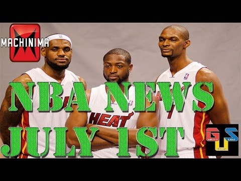 NBA NEWS - Carmelo And The Rockets, The BIG 3, Jason Kidd To Coach Bucks