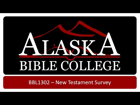 New Testament Survey   The Inspiration of the New Testament
