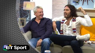 &quot;How much is this costing?&quot; Russell Brand rips into Steve McManaman for forgetting his predictions live on Fletch and Sav.</div><div class=