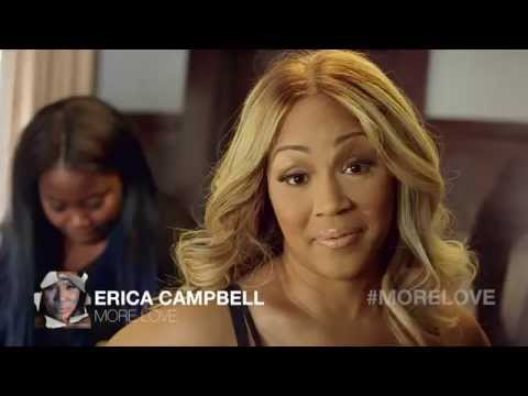 Erica Campbell - Behind The Music Video to More Love