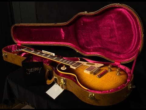 SOLD • Gibson Custom Shop Joe Perry 1959 Les Paul VOS  •  SN: JP59021