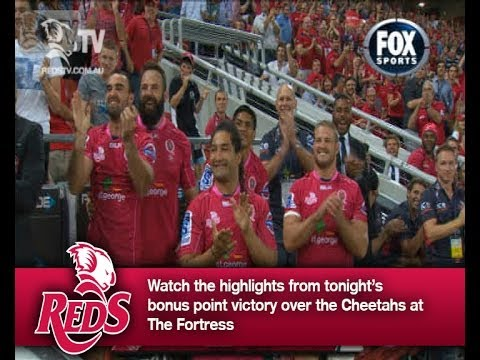 Reds v Cheetahs Rd.4 2014 | Super Rugby Video Highlights - Reds v Cheetahs Rd.4 2014 | Super Rugby V