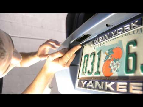 VW MK5 GTI / Golf LED Licenese Plate Light DIY by USP Motorsports