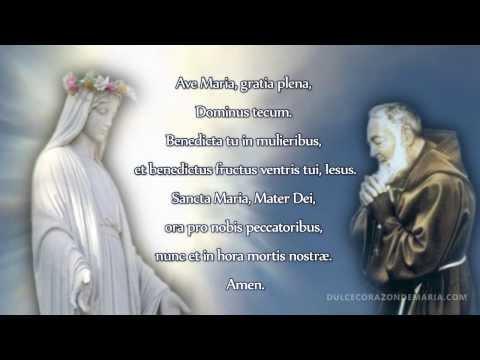 Oración ÁNGELUS en voz del Padre Pío  (Latin)