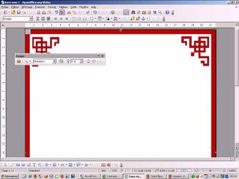 Comment ins rer des bordures avec openoffice youtube - Powerpoint avec open office ...
