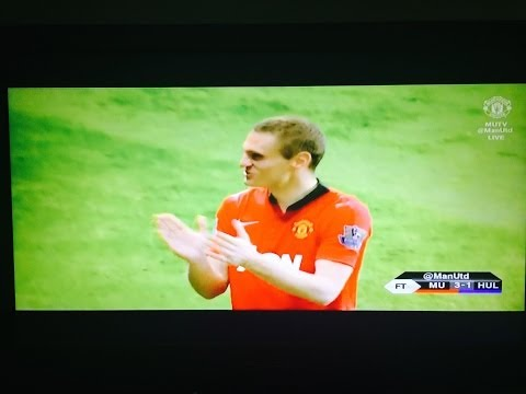 HD Nemanja Vidic's speech at Old Trafford against Hull City 07-05-2014
