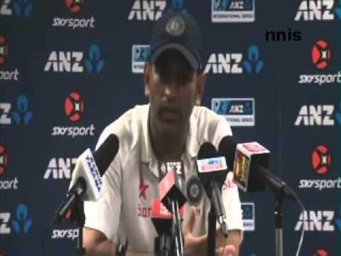 MS Dhoni: 1st Test in Auckland a great advert for Test cricket  , praise bowllers
