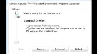 Computer & Internet Tips : How To Enable Cookies