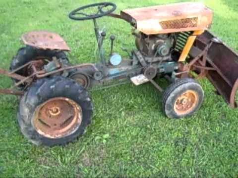 Barn Find 1963 Sears Suburban 725 Tractor Youtube