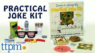 Diary Of A Wimpy Kid Practical Joke Kit From Cardinal