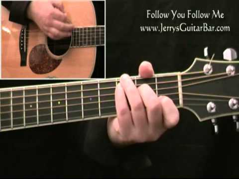 How To Play Genesis Follow You Follow Me - Acoustic Guitar Lesson