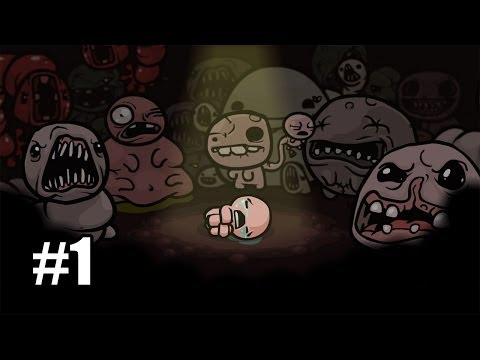 VGU Plays: The Binding of Isaac | Episode 1, Enter The Basement