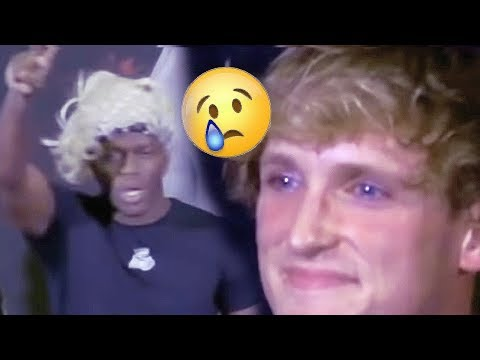 THIS IS SO SAD. LOGAN CRIED VS KSI
