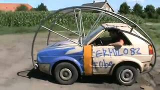Homemade Rolling Car