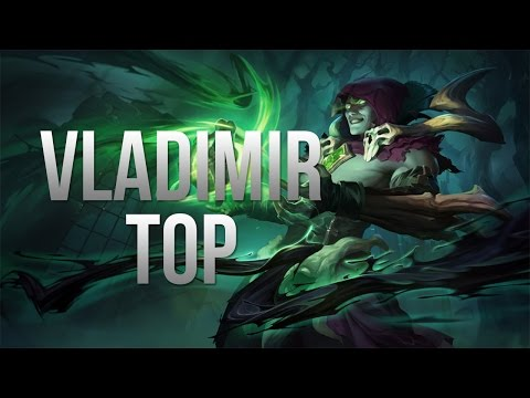 League of Legends - Vladimir Top - Full Game Commentary