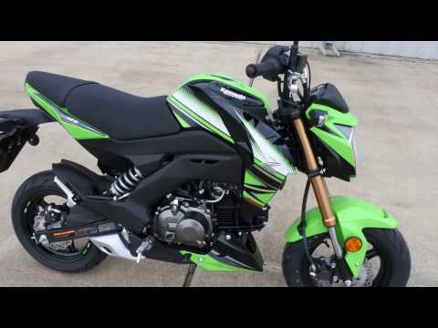 $3,199:  2017 Kawasaki Z125 Pro KRT Edition Overview and Review