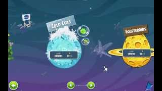 Angry Birds Space: Cold Cuts Final Boss Battle & Ending