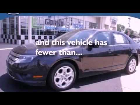 Certified 2010 Ford Fusion Woodhaven MI