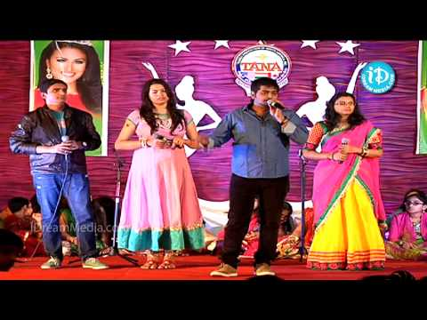 TANA International Women's Day 2014 - Song by Saketh, Pranavi and Geetha Madhuri