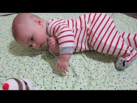 BABY ROLLS OVER!!