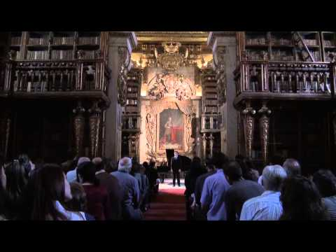 Watch Day 2014: Joanine Library of the University of Coimbra