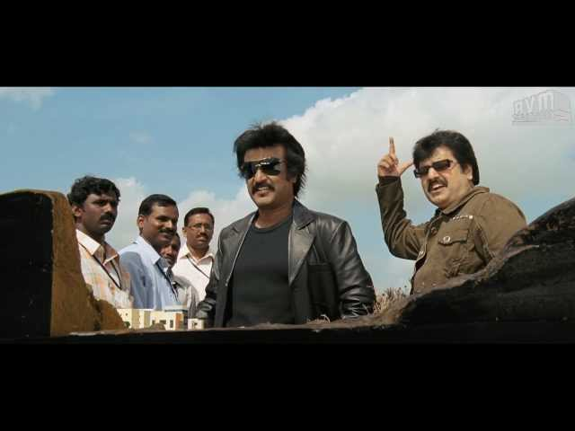 Rajini Punch Dialogue in Sivaji - 22: - Nattama; Office Room