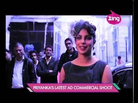 Priyanka Chopra's latest Ad commercial shoot - Bollywood Life